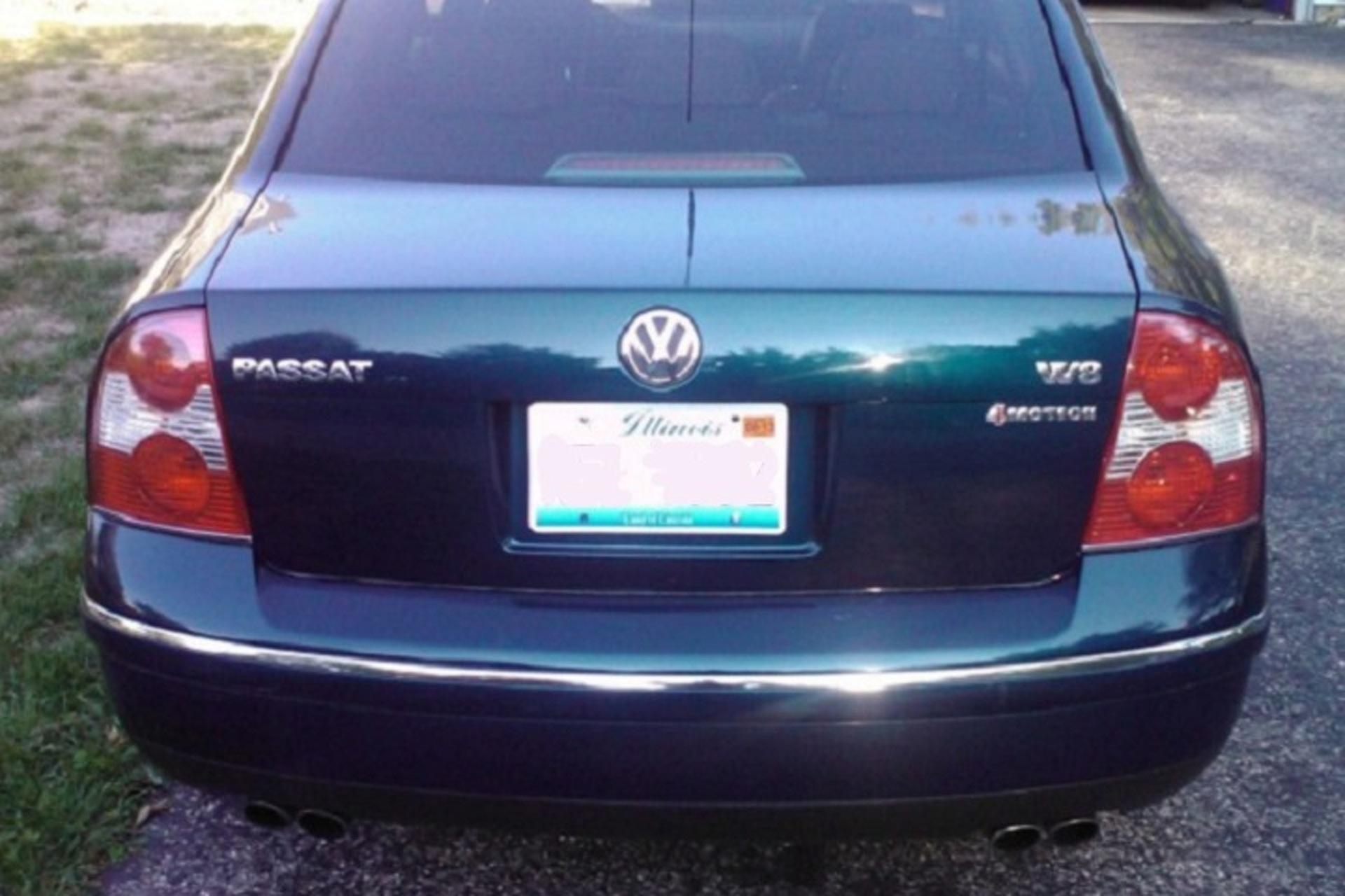 The Unluckiest Used Volkswagen Passat W8