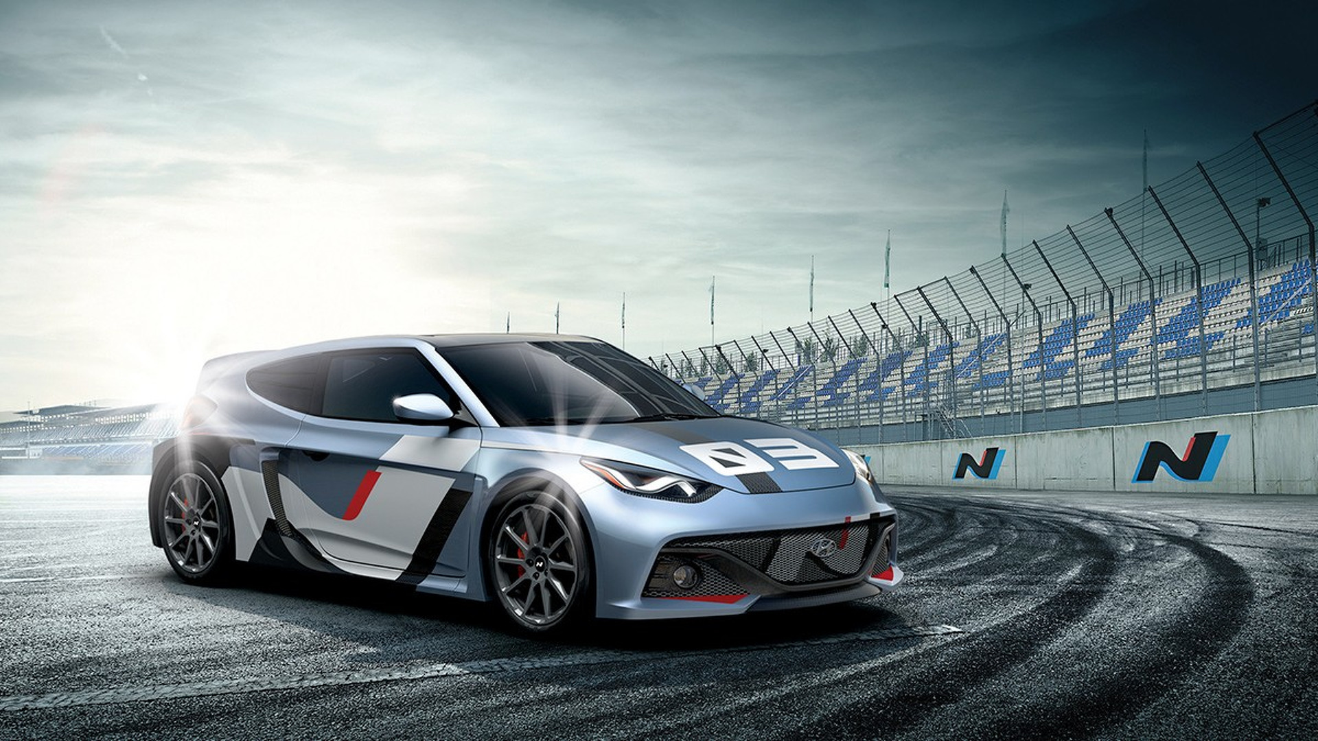 300-hp Hyundai RM16 N concept debuts with new look