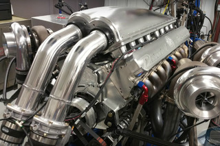Watch This Engine Put out 4500 HP on the Dyno