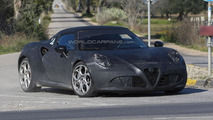 Alfa Romeo 4C confirmed with 237 hp and a roadster version