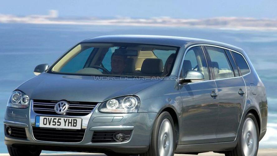 SPY PHOTOS: VW Golf Variant