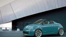 Fiat 500 Speedster and Roadster design exercises