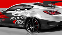 Hyundai Genesis Coupe R-Spec Track Edition announced for SEMA