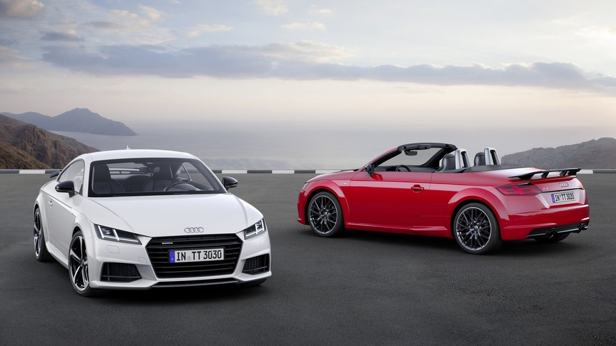 Audi TT S Line Competition features sporty upgrades