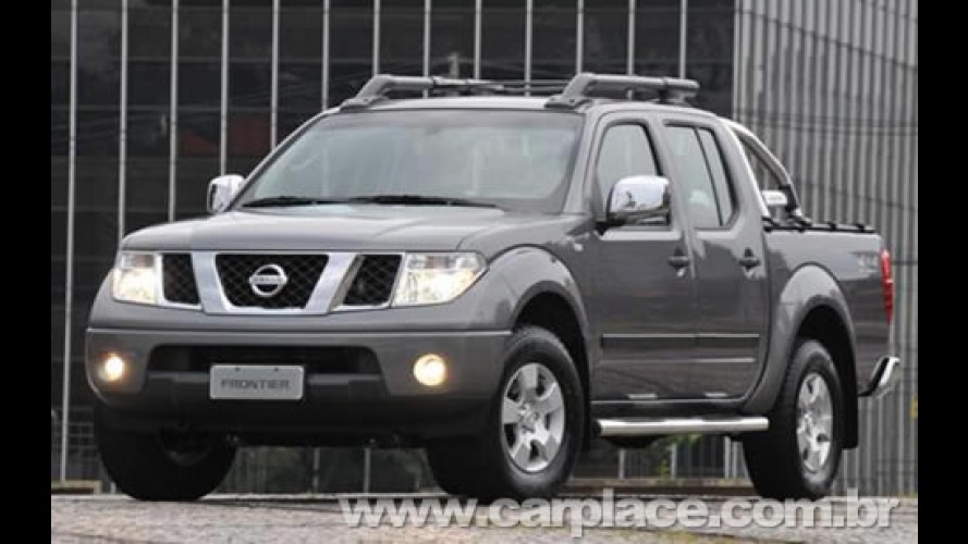 Nissan mostra Nova Frontier produzida no Brasil em 3 versões de acabamento
