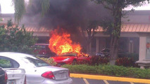 Ferrari F430 burns in Boca Raton, Florida 12.08.2013