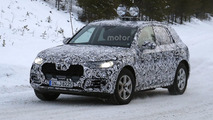 2017 Audi Q5 spied cold weather testing