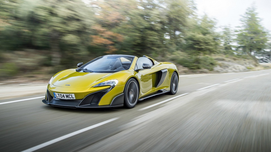 McLaren 675LT Spider sells out in less than a month