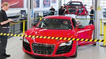 Audi R8 e-tron development center - 12.5.2011