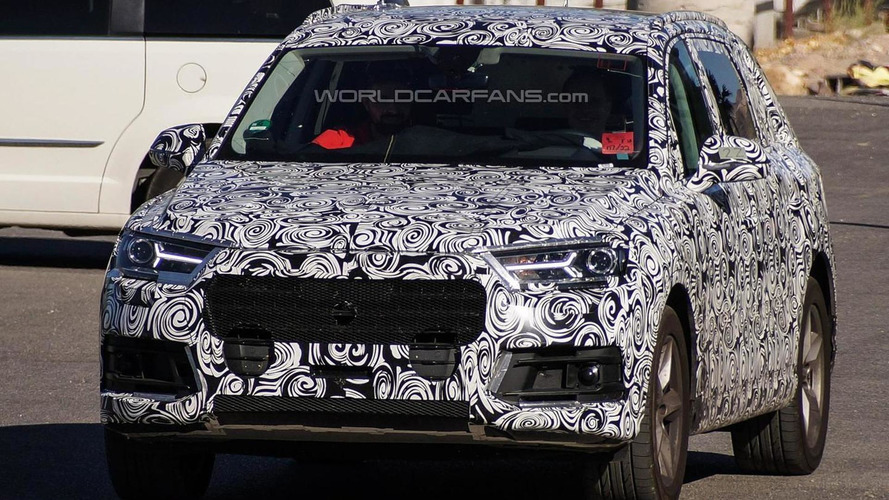 2015 Audi Q7 returns in fresh spy photographs showing more details