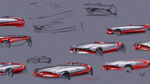 This is was supposed to be the Alfa Romeo Vision Gran Turismo concept