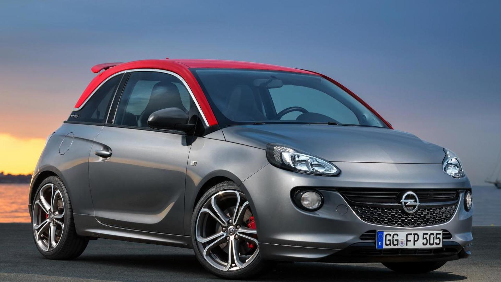 Production Opel Adam S revealed ahead of Paris Motor Show debut