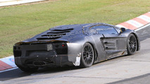 Lamborghini boss showing Murcielago-replacement to customers