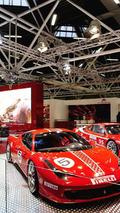 Ferrari 458 Challenge at Bologna Motor Show 02.12.2010