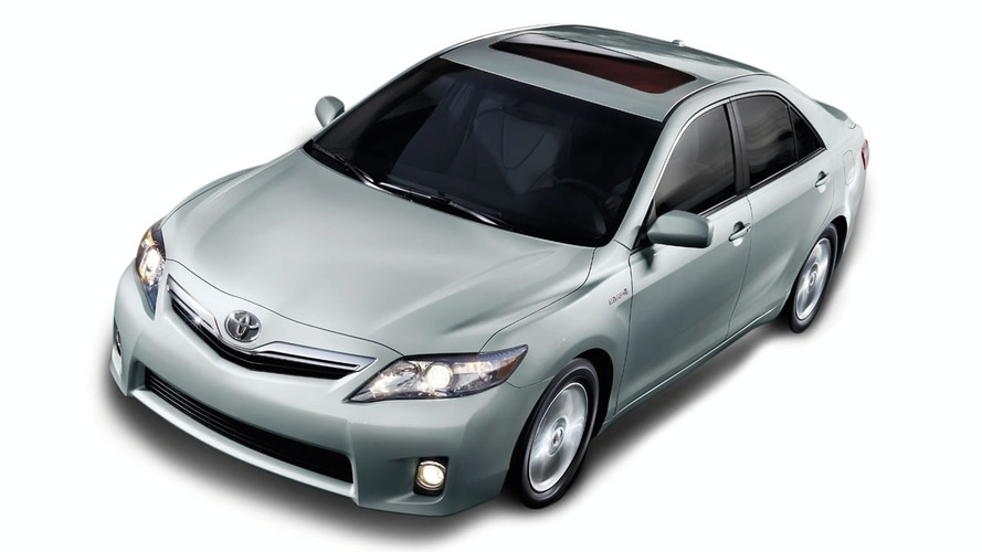 2010 Toyota Camry Facelift Unveiled at NAIAS
