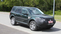 Land Rover Freelander facelift prototype