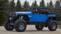 Jeep Wrangler Blue Crush - 8.4.2011
