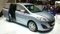 Mazda5 Flows into Geneva