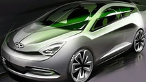 Chery Shooting Sport Concept to be Unveiled at Shanghai Auto Show