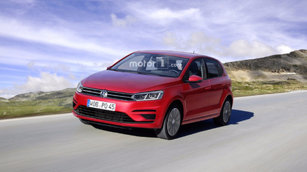 What if the 2018 VW Polo will look like this render?