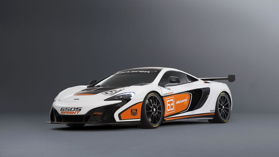 McLaren 650S Sprint announced for Pebble Beach