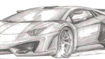 FAB Design previews Lamborghini Aventador program