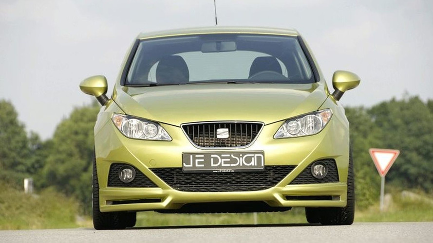JE Design Waste Little Time on Pimping the New Seat Ibiza