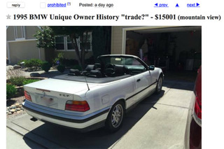 Steve Jobs' 1995 BMW Can Be Yours for $15,001