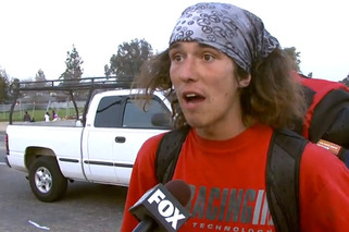 Hitchhiker Saves Woman on Side of Road, is YouTube Gold (NSFW)