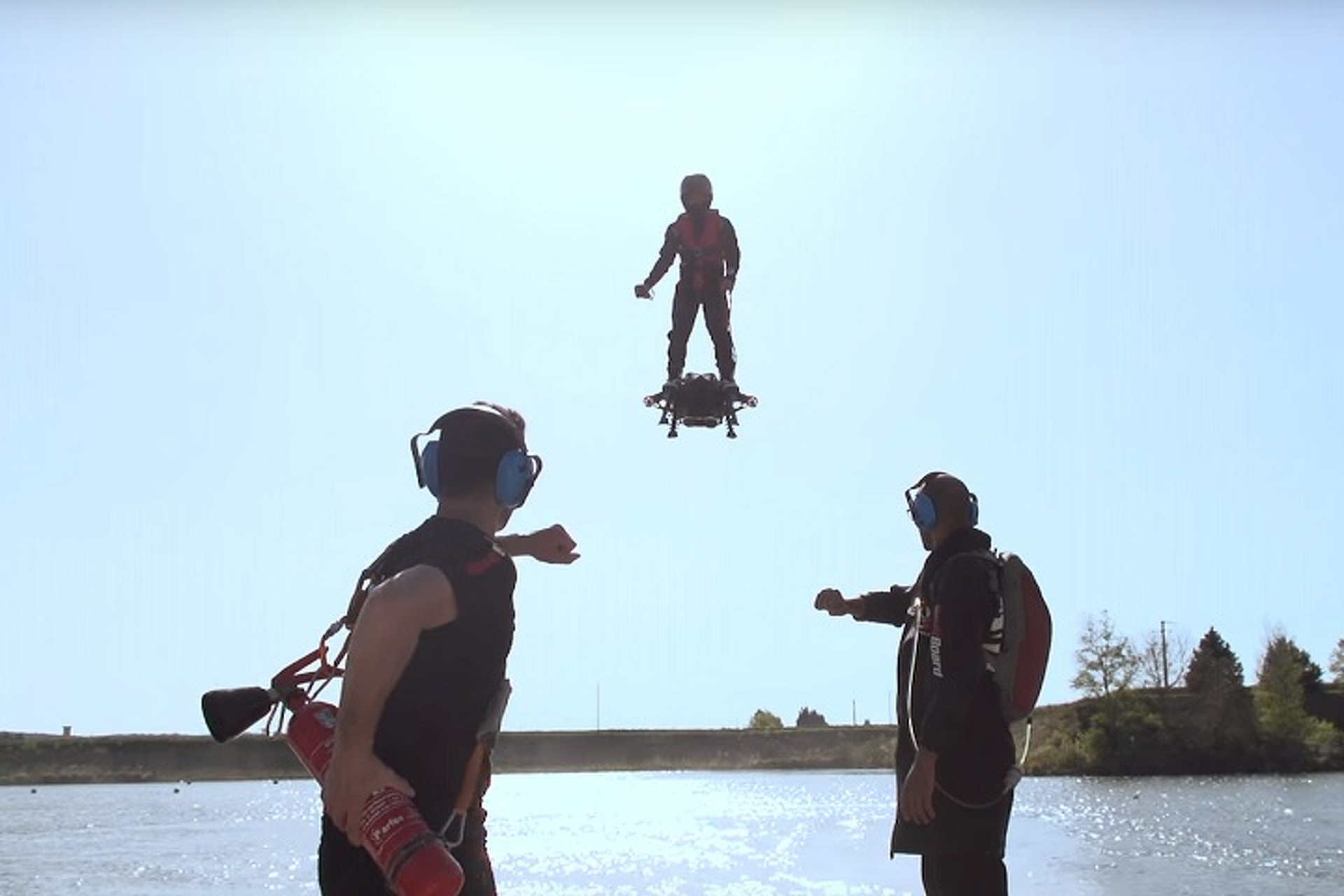 Watch A Real Hoverboard Take to the Air
