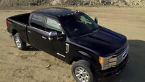 2017 Ford F-250 Super Duty leaks out early