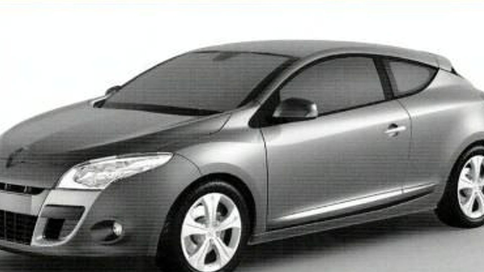 Leaked Design Shapes of Megane III and Scenic?