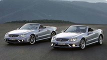 Mercedes SL 65 and SL 55 AMG Facelift