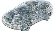 Lexus RX400h - cutout