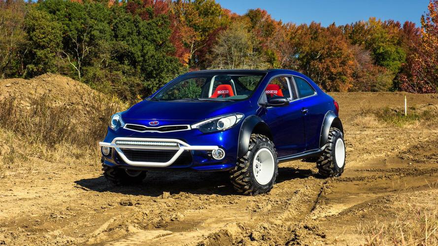 Kia Forte Koup Mud Bogger concept unveiled for SEMA