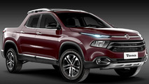Fiat Toro first official image released