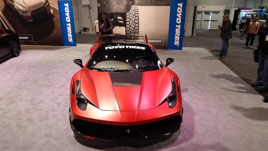 Ferrari 458 by Misha Designs looks like a rocket on wheels