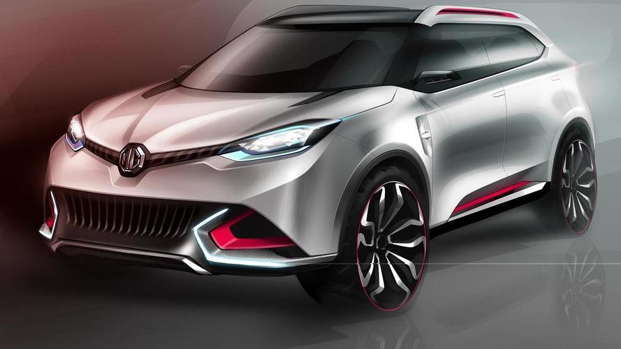 MG CS concept confirmed for Auto Shanghai