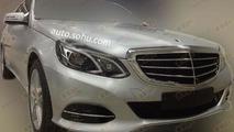 Mercedes-Benz E400L Hybrid spy photo / auto.sohu.com