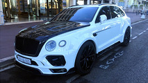 Mansory Bentley Bentayga spotted in France
