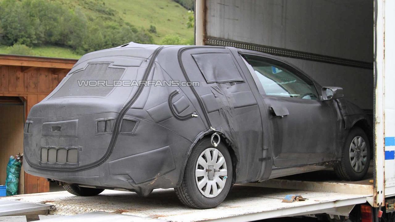 2012 Seat Leon prototype spy photo