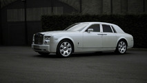 Pearl White Rolls Royce Phantom by Project Kahn