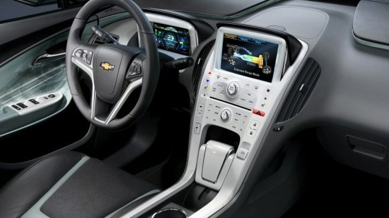 Chevy Volt Interior Revised