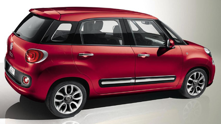 Fiat 500L, 500L Trekking and 500L Living gain a new 1.4-liter Turbo T-Jet engine with 120 HP