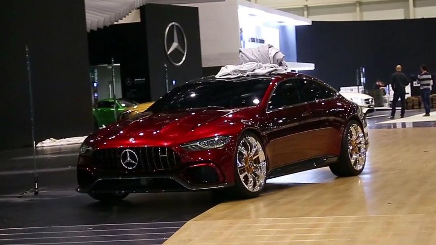 Mercedes-AMG GT Concept Video