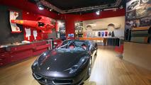 Ferrari 458 Spider live in Frankfurt 14.09.2011