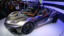 Yamaha SPORTS RIDE CONCEPT arrives in Tokyo with a very low 750 kg weight
