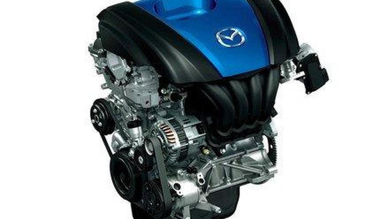 Mazda SKYACTIV-G 1.3 liter engine 19.05.2011