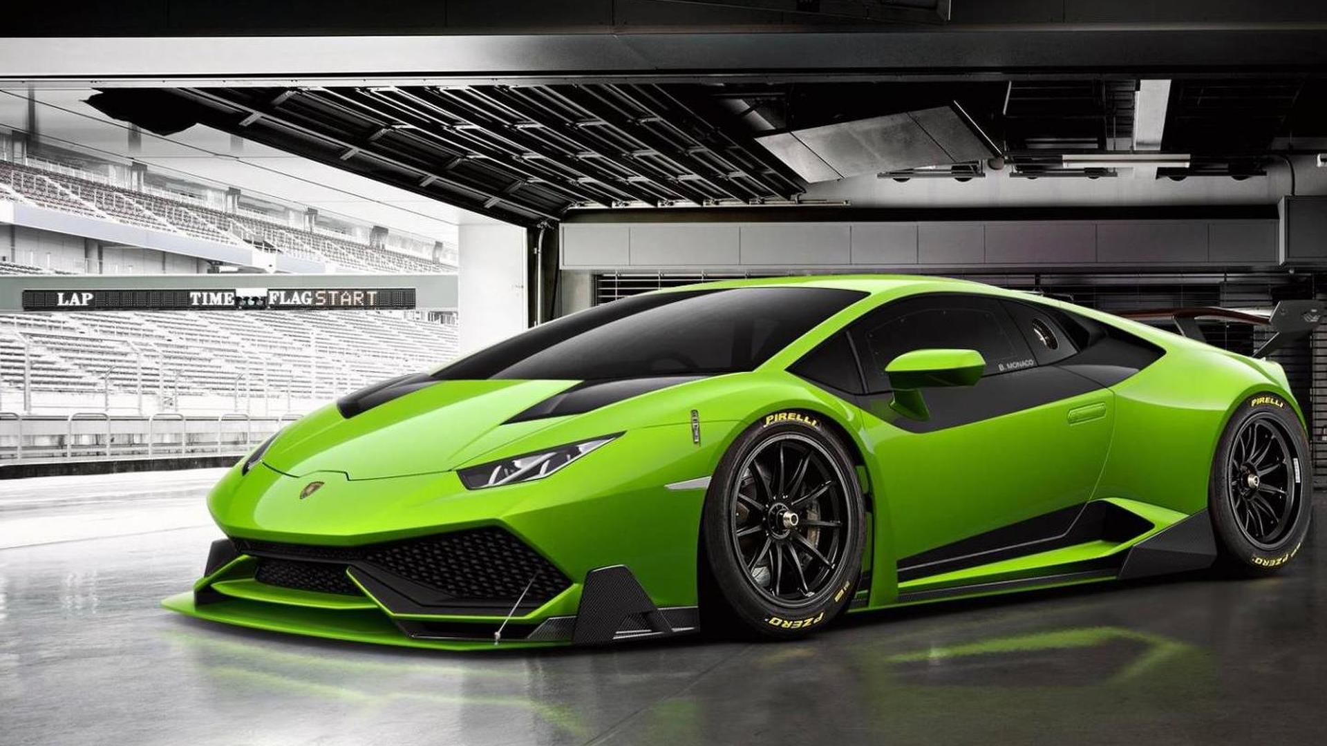 lamborghini huracan super trofeo gets rendered. Black Bedroom Furniture Sets. Home Design Ideas