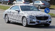 Mercedes C-Class Cabrio spy photo